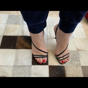 Charles David Heels with straps